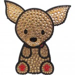 Love Your Breed CHIHUAHUA Rhinestone Sticker by FouFou Dog