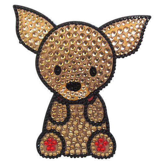 Love Your Breed CHIHUAHUA Rhinestone Sticker by FouFou Dog