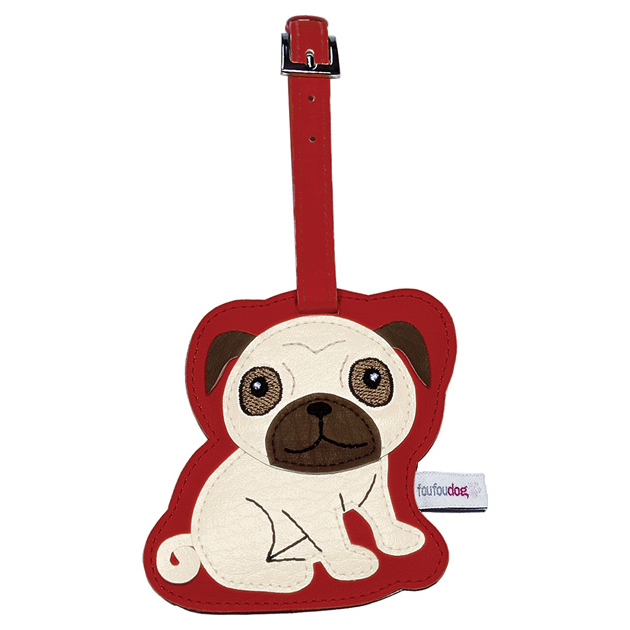 Love Your Breed PUG Luggage Tag by FouFou Dog