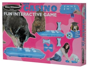 interactive dog toy dog casino